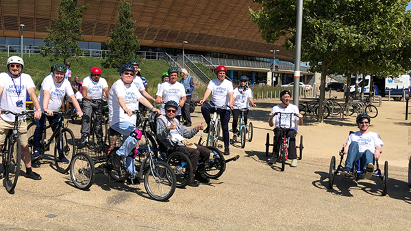Our Sponsored Cycle Raised £1080 - Thank You!