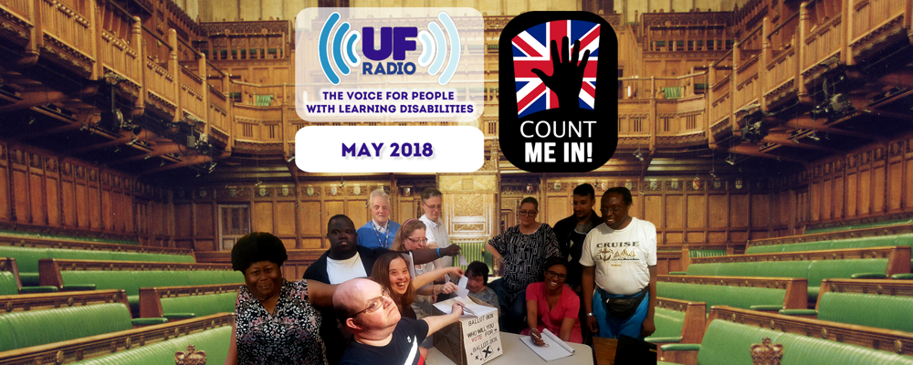 "UF Radio - May 2018: ""Count me in!"""
