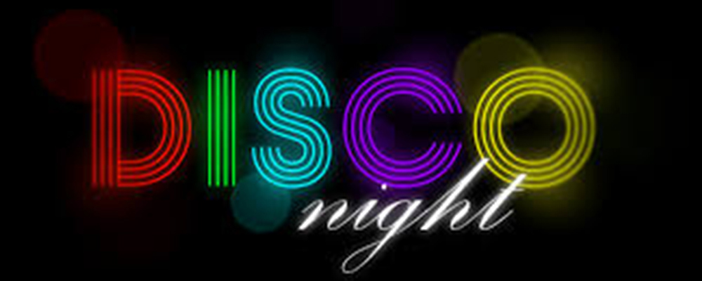 Disco Night (on Zoom) - Wednesday 28th April