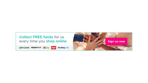 Fundraise while you shop online